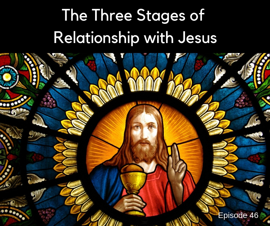 The Three Stages of Relationship with Jesus Christ